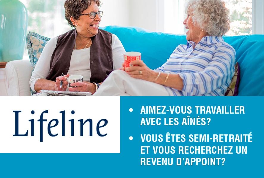 Lifeline Canada recherche des agents de service à domicile