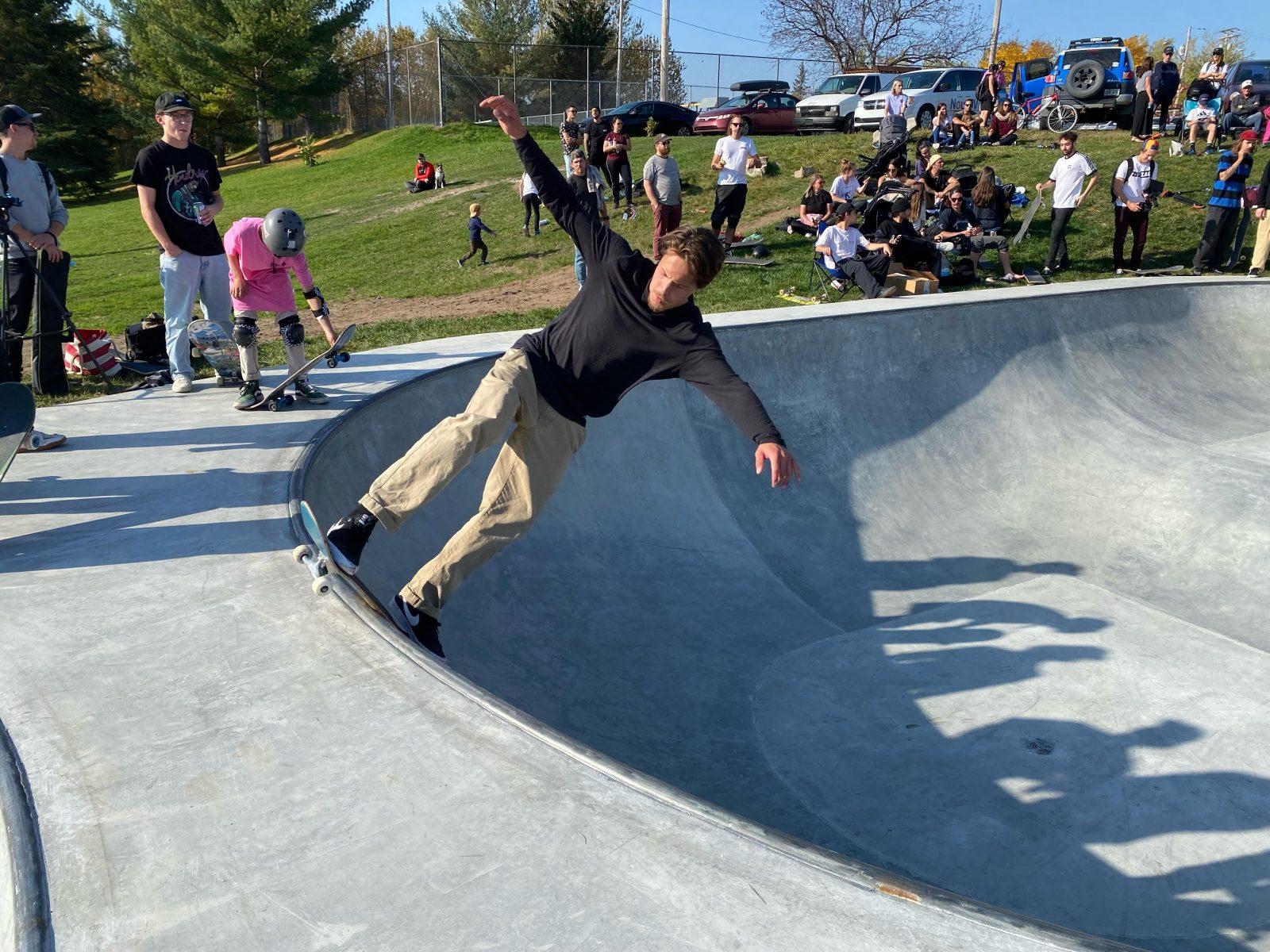 Lancement du skatepark : un retour en force pour la « ville du skate »