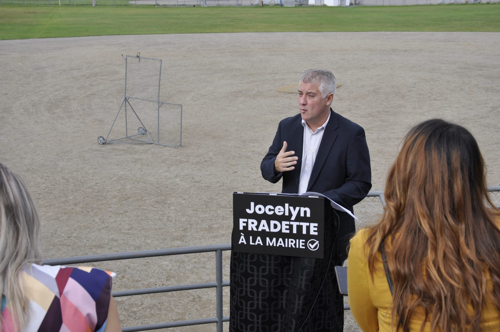 Terrains de baseball : Jocelyn Fradette veut qu'Alma rattrape son retard