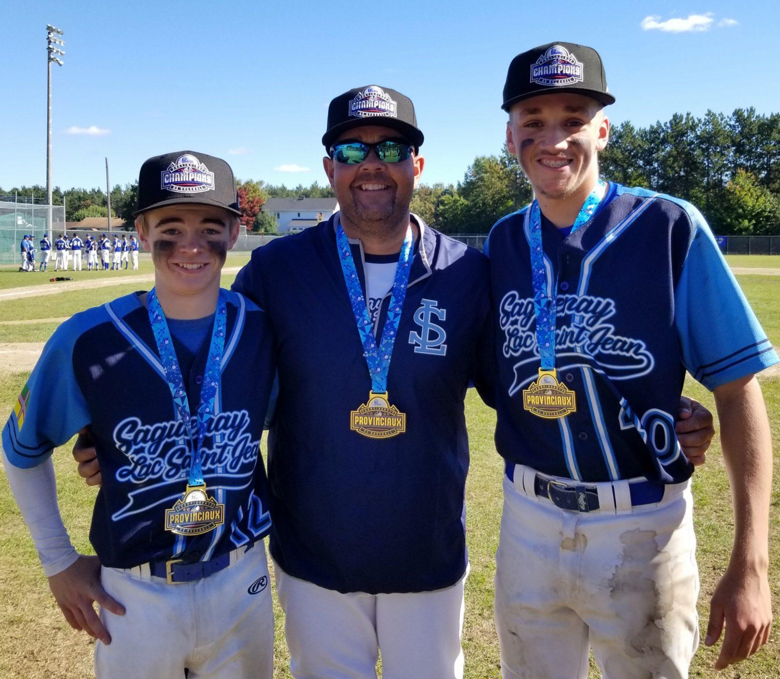 Baseball: Alma brille sur la scène provinciale